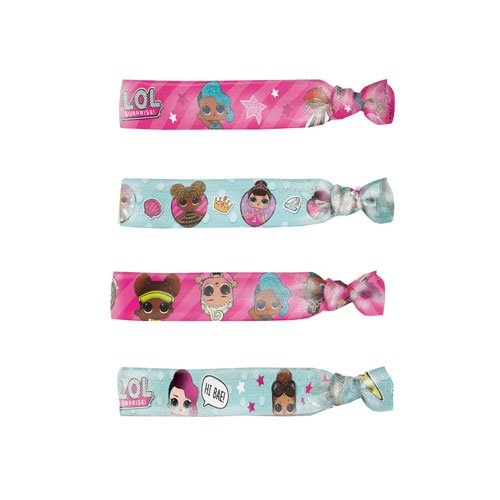 LOL Surprise Assorted Hair Ties - Pack of 4 Product Image