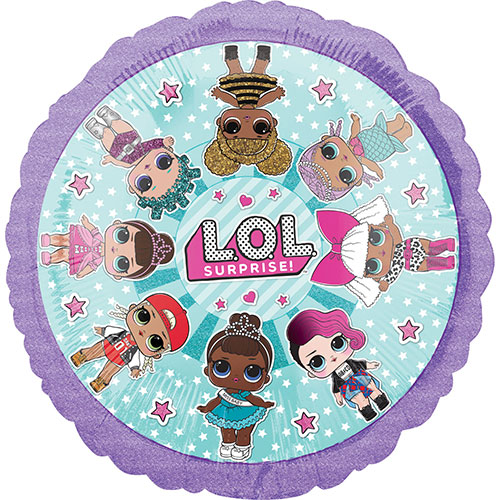 LOL Surprise Girls Foil Helium Balloon 43cm / 17Inch Product Image