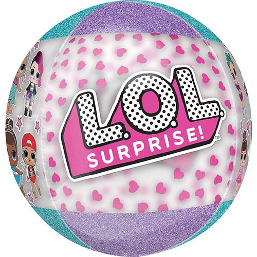LOL Surprise Orbz Foil Helium Balloon 38cm / 15 in Product Image