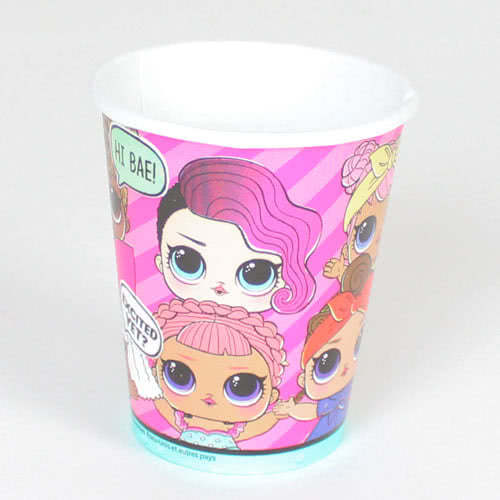 LOL Surprise Paper Cups 270ml - Pack of 8 Product Image