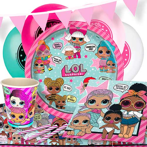 LOL Surprise 8 Person Deluxe Party Pack Product Image