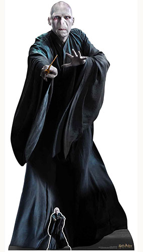 Lord Voldemort He Who Must Not Be Named Harry Potter Character Lifesize Cardboard Cutout 184cm Product Image