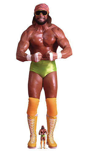 Macho Man Randy Savage WWE Lifesize Cardboard Cutout 186cm Product Image