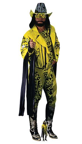 Macho Man Randy Savage Yellow Suit WWE Lifesize Cardboard Cutout 195cm