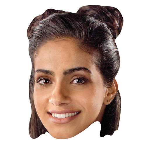 Mandip Gill Yasmin Doctor Who Cardboard Face Mask Product Image