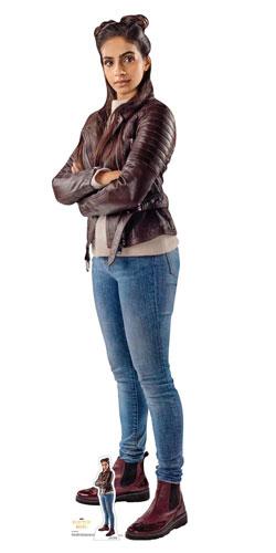 Mandip Gill Yasmin Dr Who Lifesize Cardboard Cutout 165cm Product Image