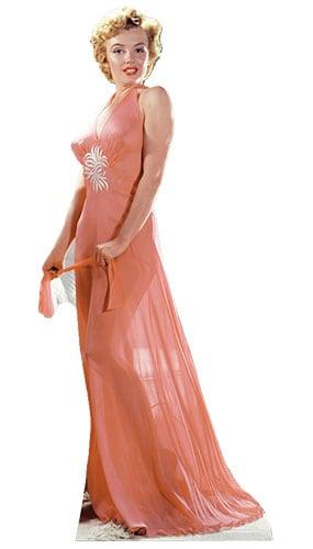 Marilyn Monroe Night Gown Lifesize Cardboard Cutout - 169cm Product Image