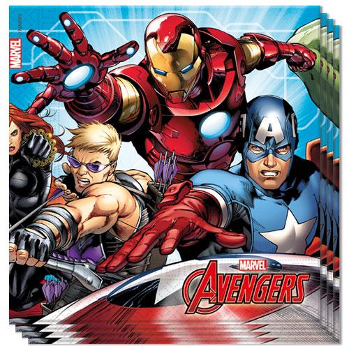 Marvel Avengers Luncheon Napkins 33cm 2Ply - Pack of 20