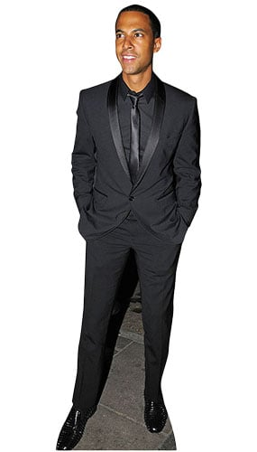 Marvin Humes Lifesize Cardboard Cutout - 181cm Product Image