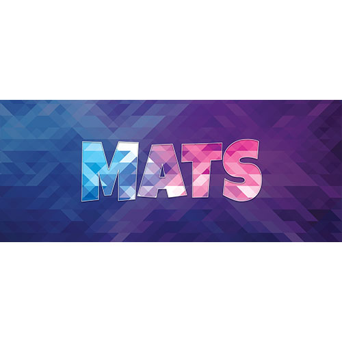Mats Home Screen Background PVC Party Sign Decoration 60cm x 25cm Product Image