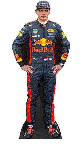 Max Verstappen Lifesize Cardboard Cutout - 177cm Product Image