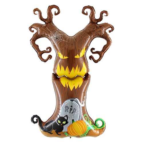 Maxiloons Halloween Scary Tree Foil Giant Balloon 155cm / 61 in