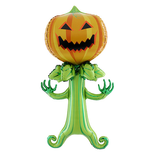 Maxiloons Halloween Spooky Pumpkin Foil Giant Balloon 143cm / 56 in Product Image