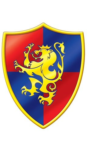 Medieval Crest Decorative Cutout - 16 Inches / 41cm Product Image