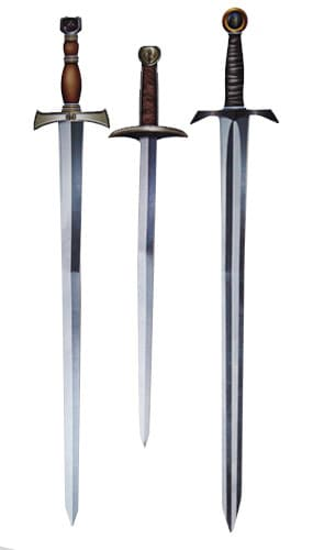 Medieval Swords Assorted Decorative Cutouts - 34 Inches / 90cm - Pack of 3 Product Image
