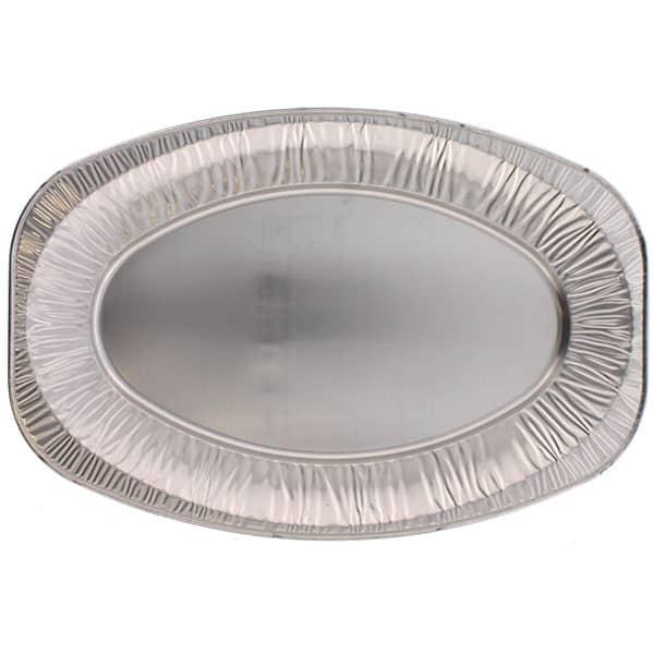 Medium Oval Foil Platter - 17 Inches / 43cm