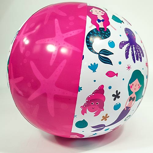 Mermaid Inflatable Beach Ball 50cm Product Image