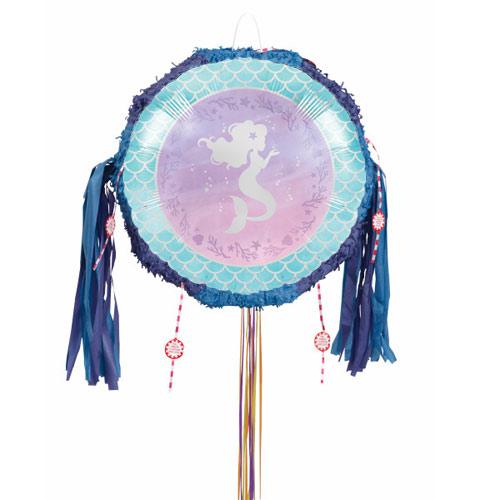 Mermaid Shine Pull String Pinata Product Image
