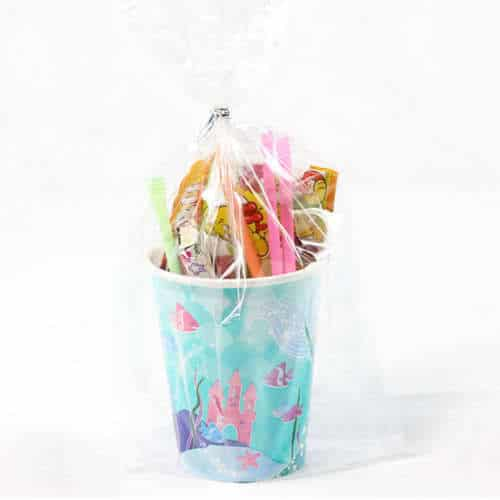 Mermaid Toy And Candy Cup Product Image