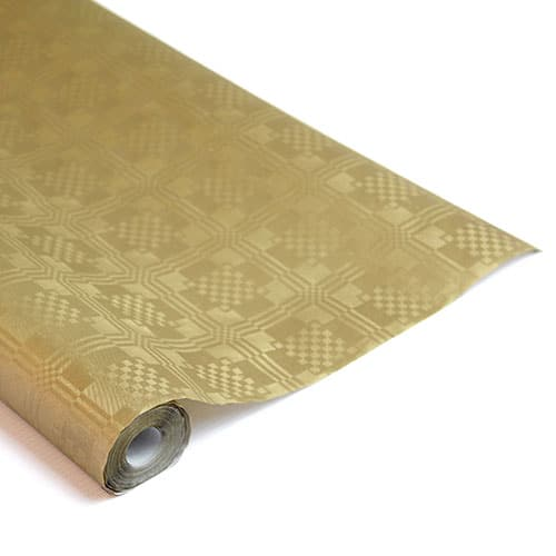 Metallic Gold Paper Banquet Roll - 8m x 1.2m Product Image