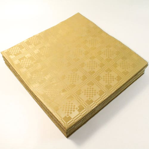 Metallic Gold Paper Tablecover - 90cm x 88cm Pack Of 25