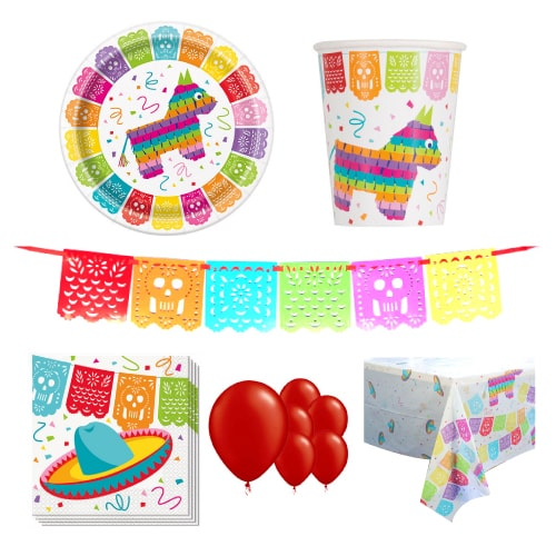 Mexican Fiesta 8 Person Deluxe Party Pack