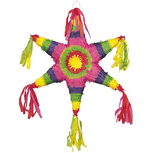 Mexican Star Standard Pinata Product Image