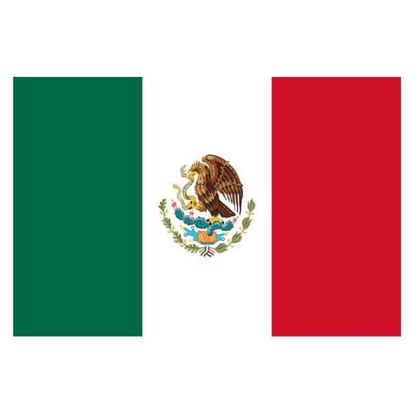 Mexico Flag - 5 x 3 Ft Product Image