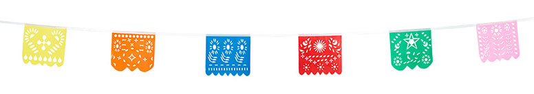 Mexico Plastic Bunting 6m Product Image