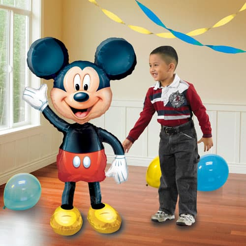 Mickey Mouse Airwalker Foil Balloon 132cm / 52 Inch Product Image