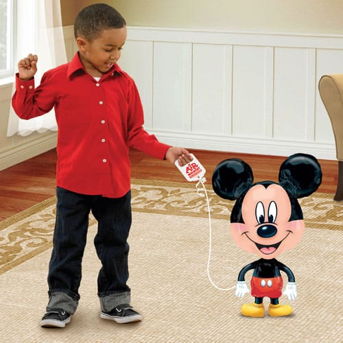 Mickey Mouse Airwalker Foil Helium Balloon Buddy 76cm / 30Inch Product Image