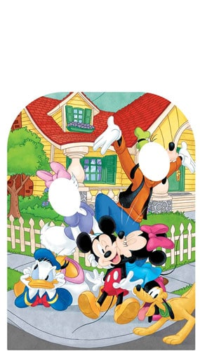 Mickey Mouse and Friends Cardboard Cutout Stand In Child Size 131cm Product Image