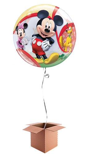 Mickey Mouse Clubhouse Friends Bubble Helium Qualatex Balloon - Inflated Balloon in a Box Product Image
