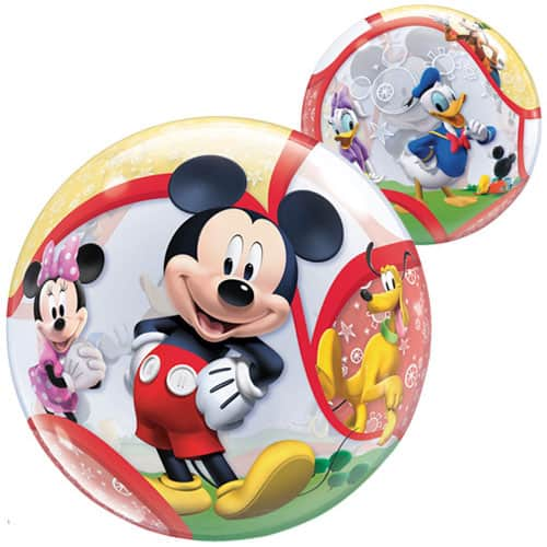 Mickey Mouse Clubhouse Friends Bubble Helium Qualatex Balloon 56cm / 22 in Product Image