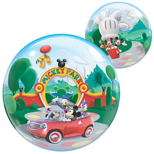 Mickey Mouse Clubhouse Park Bubble Helium Qualatex Balloon 56cm / 22 in