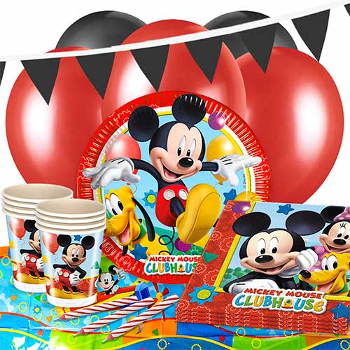 Mickey Mouse Clubhouse 16 Person Deluxe Party Pack