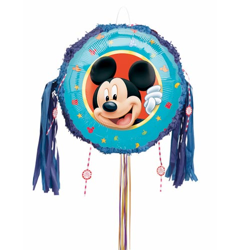 Mickey Mouse Pull String Pinata Product Image