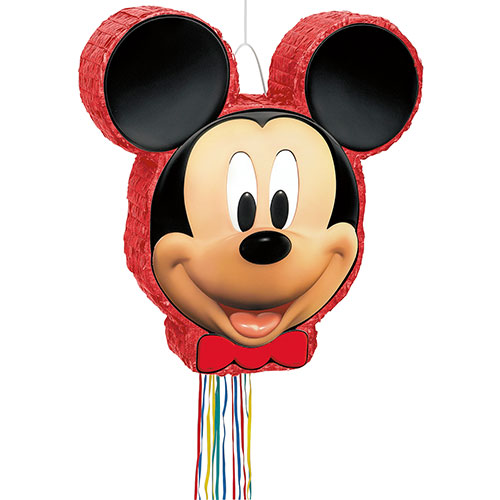 Mickey Mouse Shaped Pull String Pinata Product Image