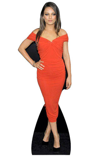 Mila Kunis Lifesize Cardboard Cutout - 165cm Product Image