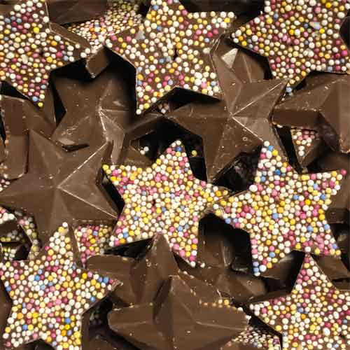 Milk Chocolate Stars Sweet