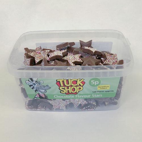Milk Chocolate Stars Sweets - Pack of 120