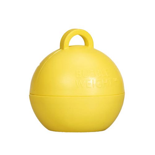 Mimosa Yellow Bubble Balloon Weight 35g Product Image