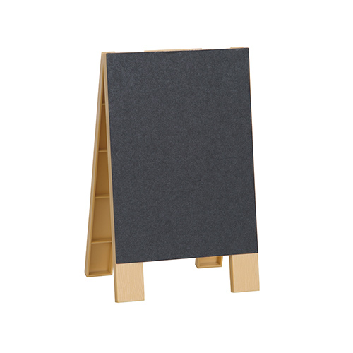 Mini Chalkboard Easel with Chalk 16cm Product Image