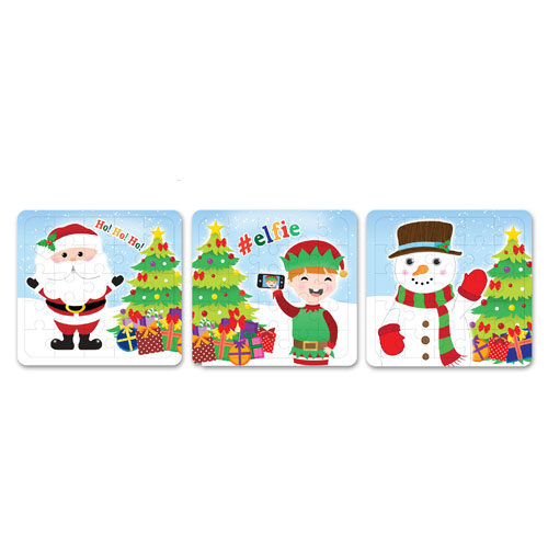 Assorted Christmas Characters Jigsaw Puzzle