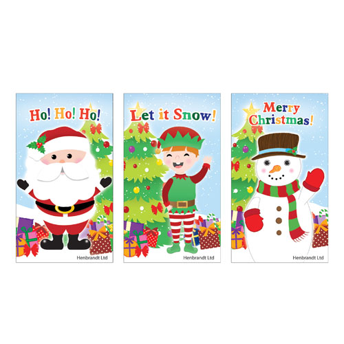 Assorted Christmas Characters Mini Notebook Product Image