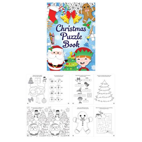 Mini Christmas Puzzle Book Product Image