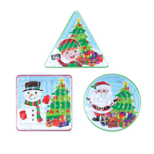 Assorted Christmas Characters Puzzle Maze