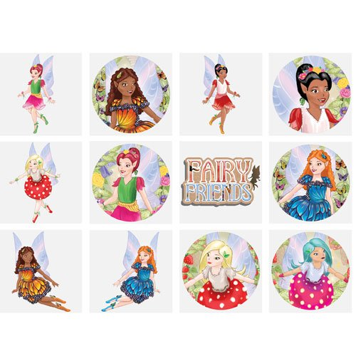 Mini Fairy Tattoo Stickers - Pack of 12 Product Image