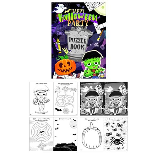 Mini Halloween Puzzle Book 15cm