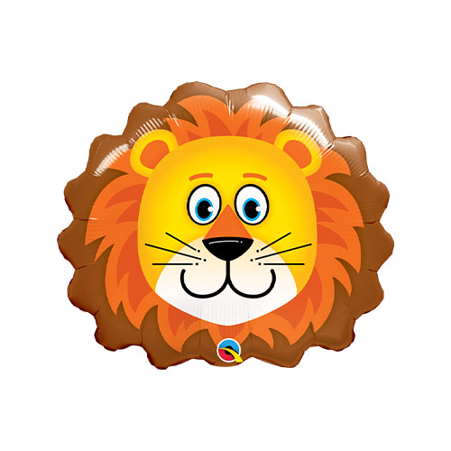 Mini Lovable Lion Air Fill Foil Qualatex Balloon 25cm / 10 in Product Image